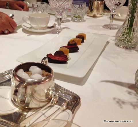Dessert at Llangod Hall