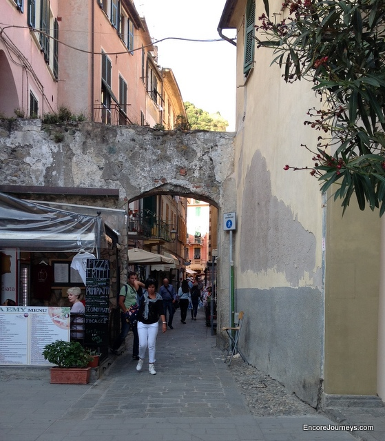 Quaint streets provide shopping and dining experiences