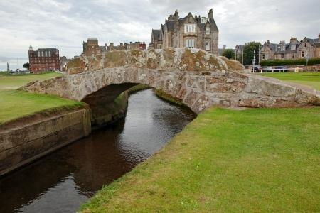 St. Andrews, Scotland, Swilken Bridge, Golf Hall of Fame, The Open