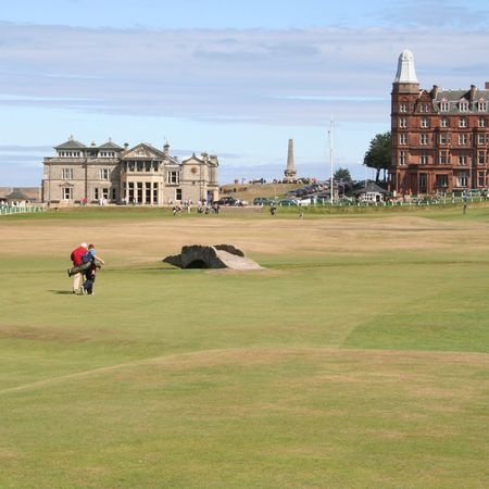 St. Andrews Old Course, Scotland, Golf,
