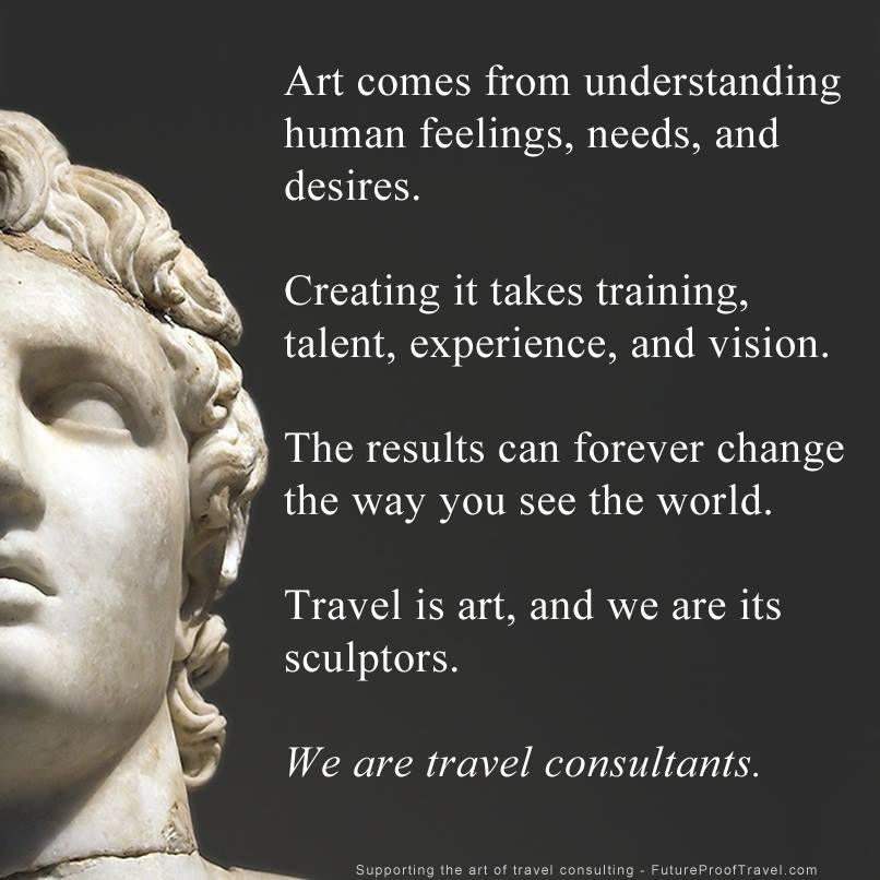Travel Consultants, Travel Agents, Travel Advisors